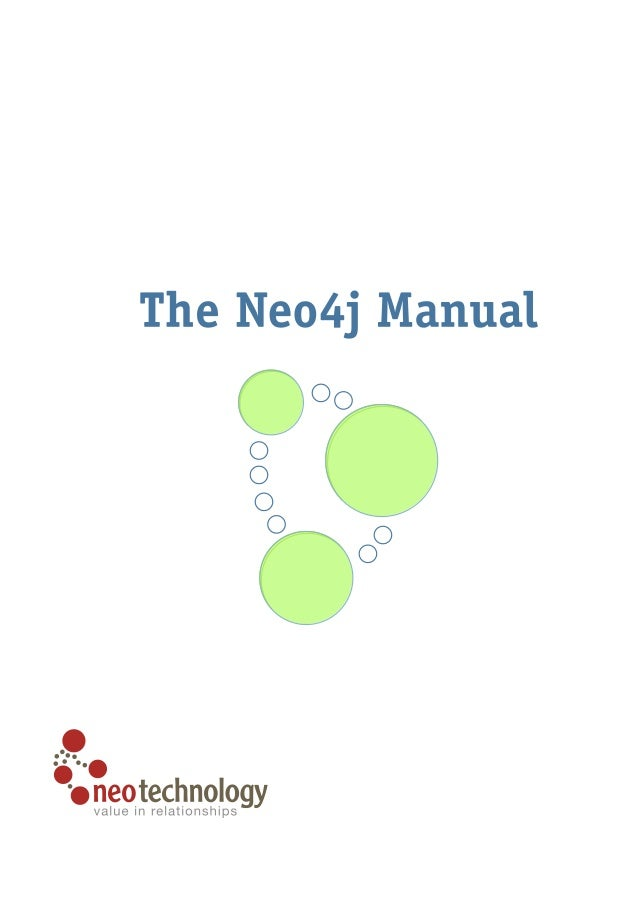 Neo4j manual-milestone
