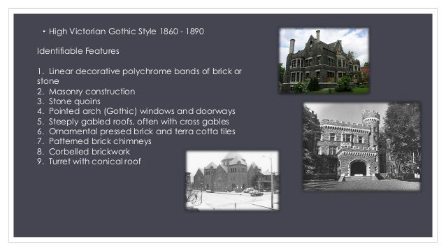 Neoclassical Architecture Late Victorian Era And Gothic