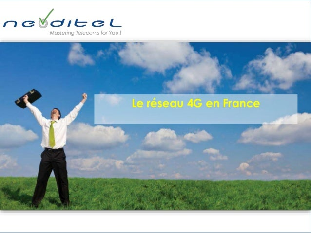 Le réseau 4G en France