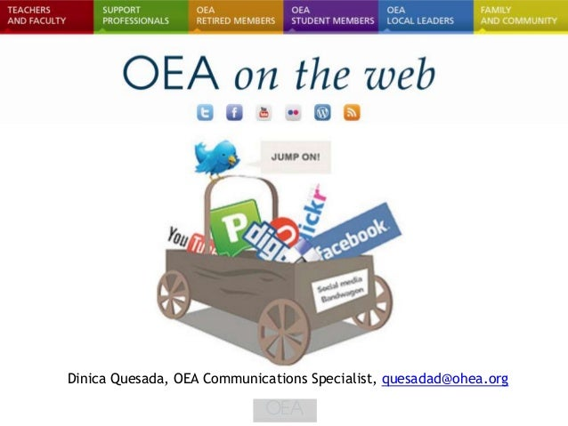 Dinica Quesada, OEA Communications Specialist, quesadad@ohea.org