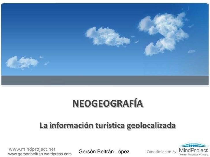 Neogeografia
