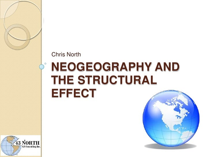 Neogeography and the Structural Effect<br />Chris North<br />