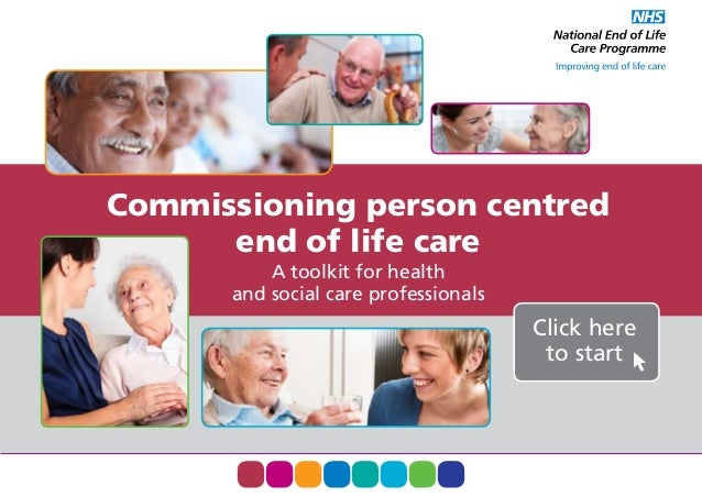 End of life commissioning toolkit