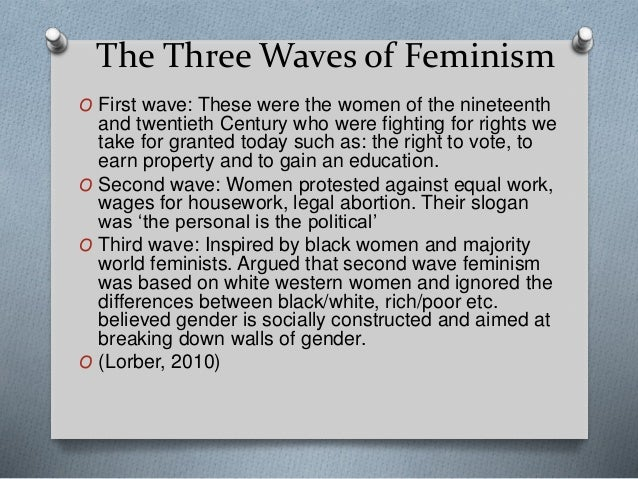 three waves of feminism pdf