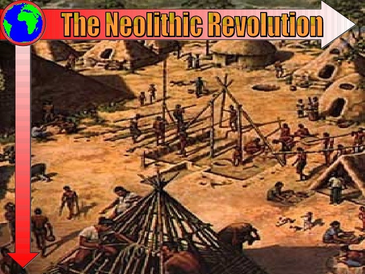 neolithic revolution Neolithic revolution 1 the neolithic revolution 2 the neolithic age during most of history, most humans made their living by hunting and gathering by the end of this time period, cro-magnon man had developed art and complex tools knives, throwing spears, fish hooks.