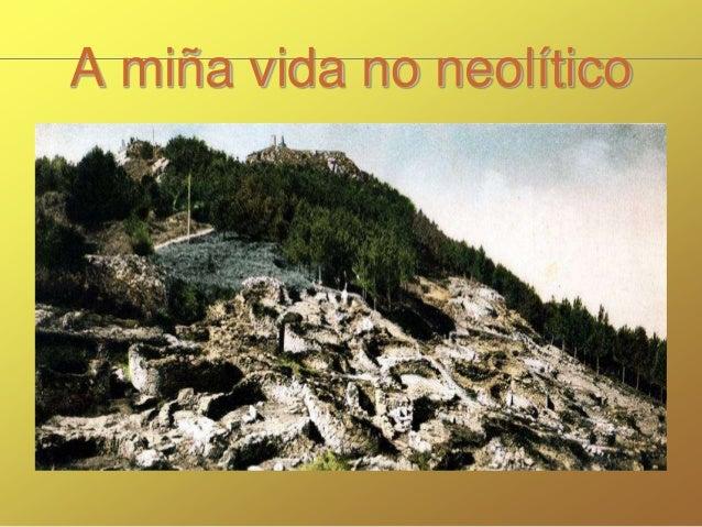 A miña vida no neolítico