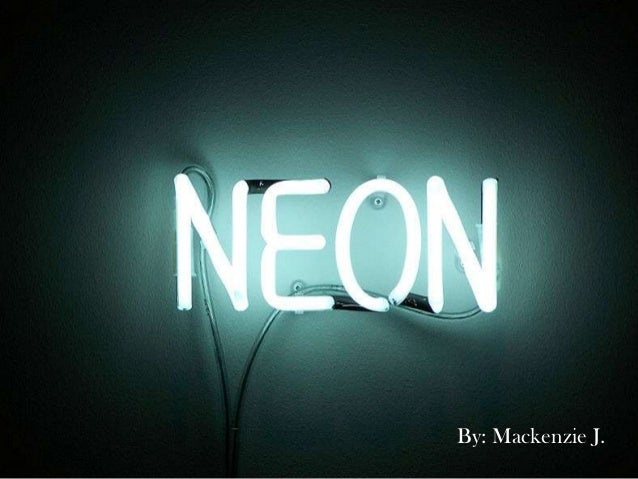 Neon Element Project