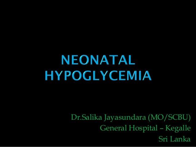 Dr.Salika Jayasundara (MO/SCBU) General Hospital – Kegalle Sri Lanka