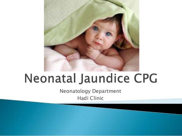 Neonatology Department      Hadi Clinic
