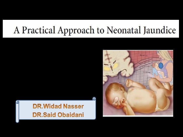 Neonatal juindice