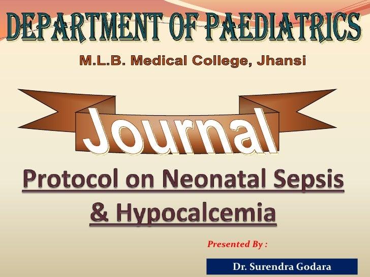 Presented By :     Dr. Surendra Godara