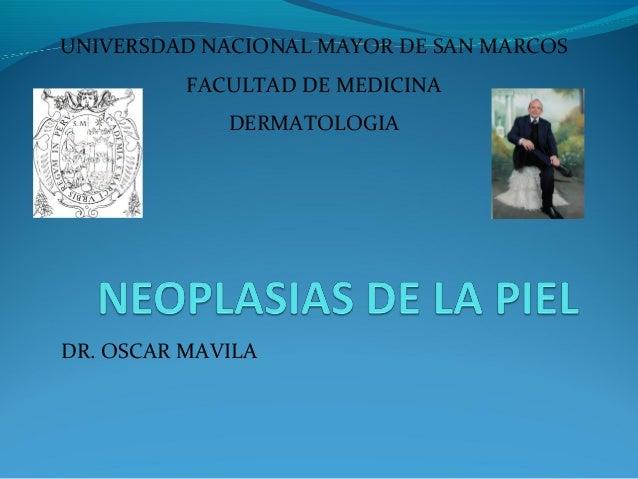 NEOPLASIAS DE PIEL