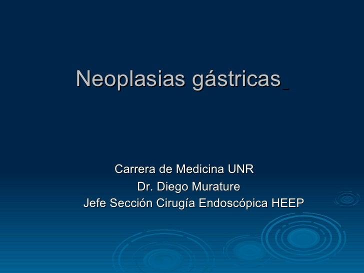 Neoplasiasgastricas heep pregrado