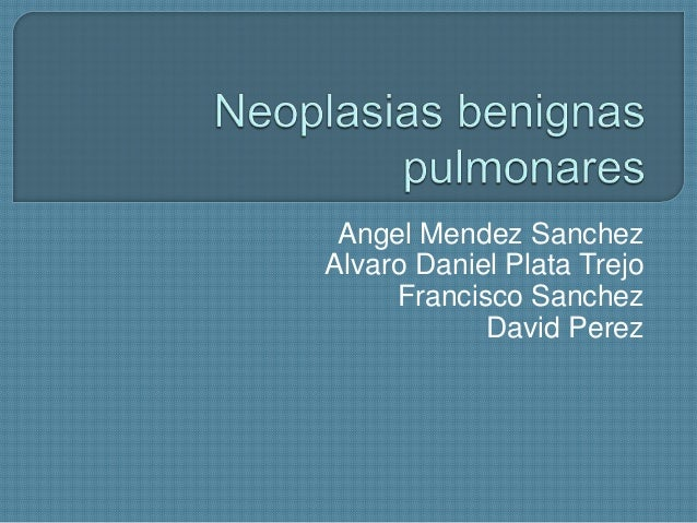 Neoplasias  pulmonares completo