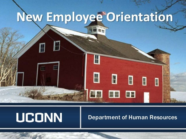 Department of Human Resources New Employee Orientation