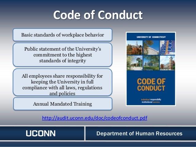 wgu human resources code of ethics