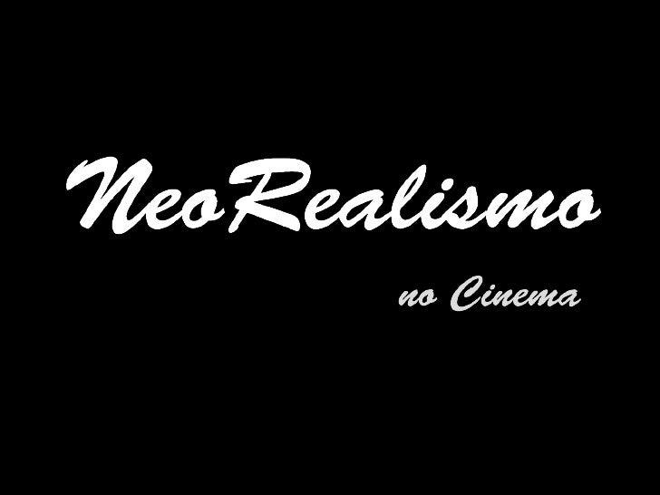 Neorealismo Italiano no Cinema
