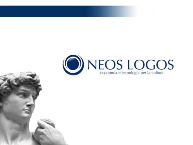 Neos logos: economia e tecnologia per la cultura e per l'arte