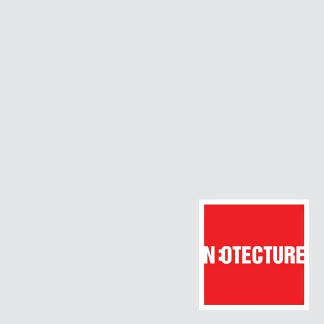Neotecture is all about twisting the conventional,                         always creating something new,                 ...