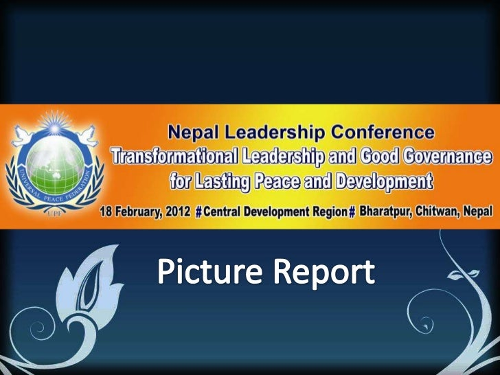 Nepal Leadership Conference Chitwan Report