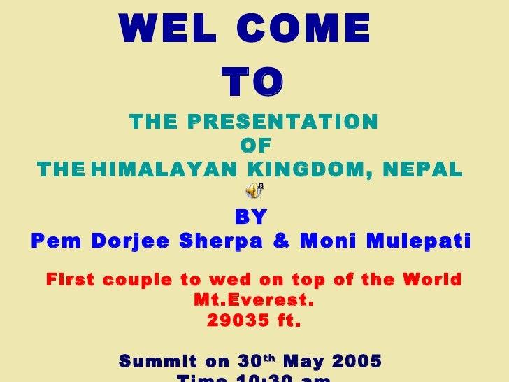 Nepal Trekking & Climbing Presentation