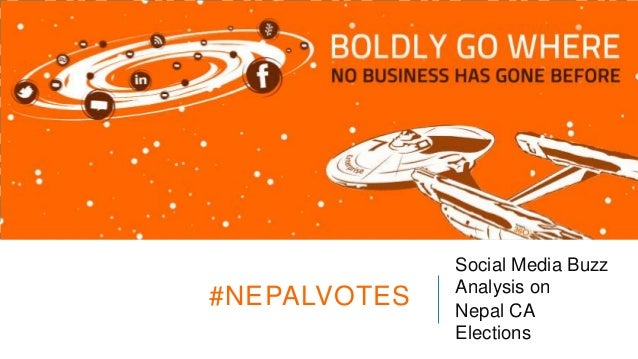 #NEPALVOTES  Social Media Buzz Analysis on Nepal CA Elections