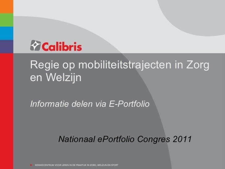 Nepc11 regie op mobiliteitstrajecten calibris