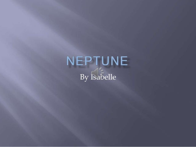 Neptune by isabelle