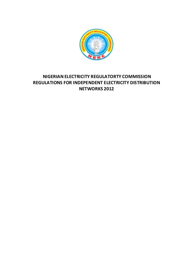 Nerc regulation-for-iedn-2012