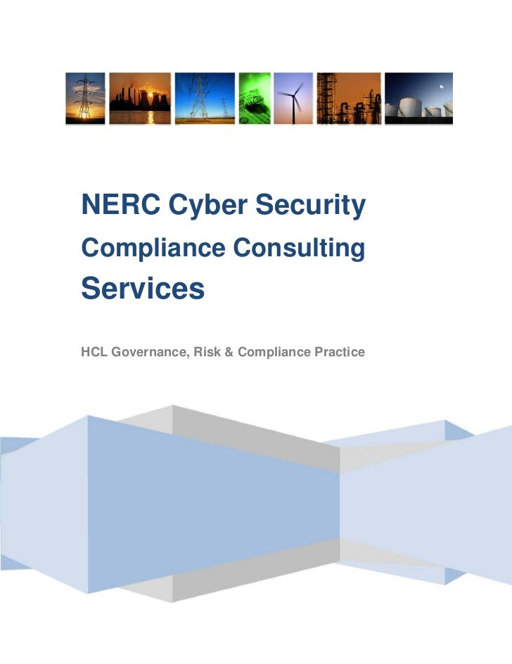 NERC Cyber SecurityCompliance ConsultingServicesHCL Governance, Risk & Compliance Practice
