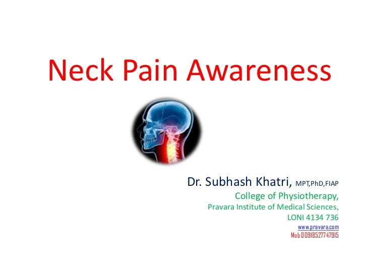 Nerck pain prevention