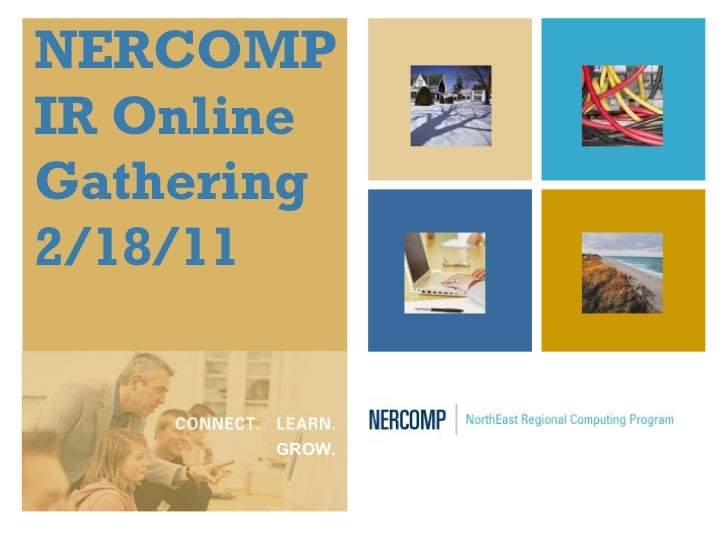 NERCOMP IR Gathering