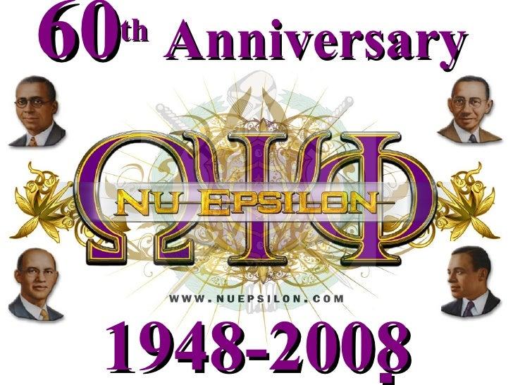 1948-2008  60 th  Anniversary