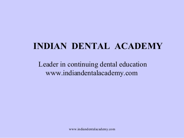 Nerve injuries /certified fixed orthodontic courses by Indian dental academy