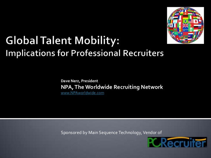 GLOBAL TALENT MOBILITY