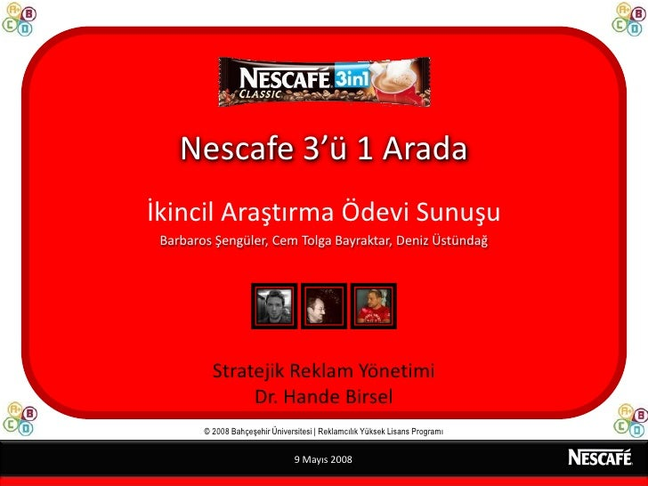 Nescafe3in1