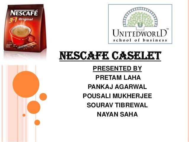Presentation on Nescafe caselet