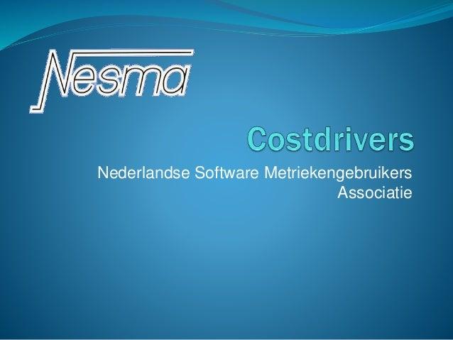 Nederlandse Software Metriekengebruikers Associatie