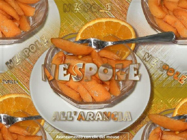 Nespole all'arancia