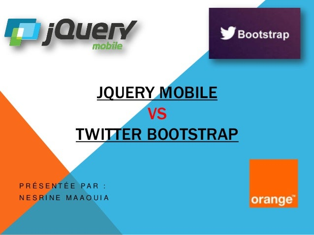 Jquery Mobile vs Twitter Bootstrap