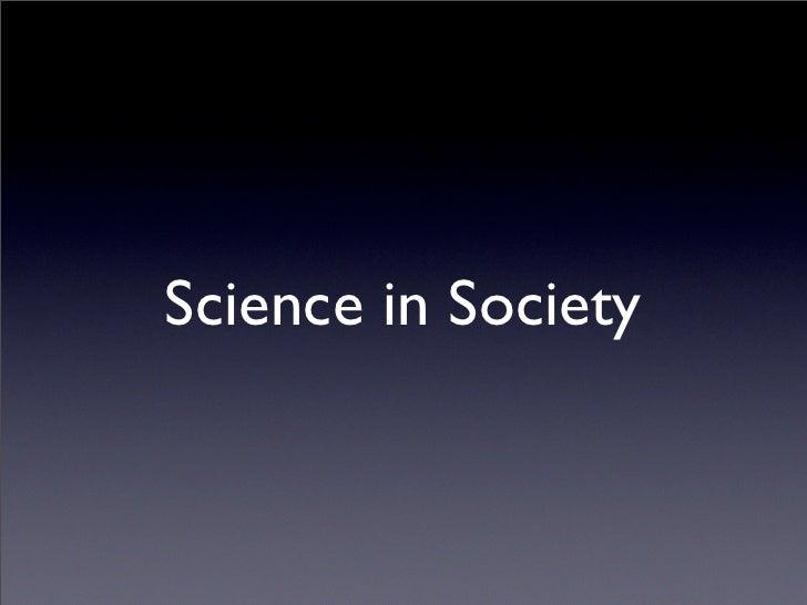 NESTA - Science in Society