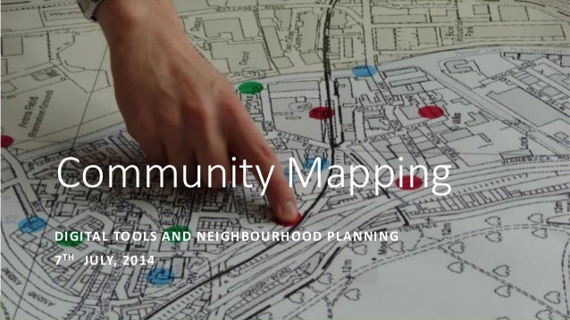 Mapping for Change: Digital Tools and Neighbourhood Design Workshop