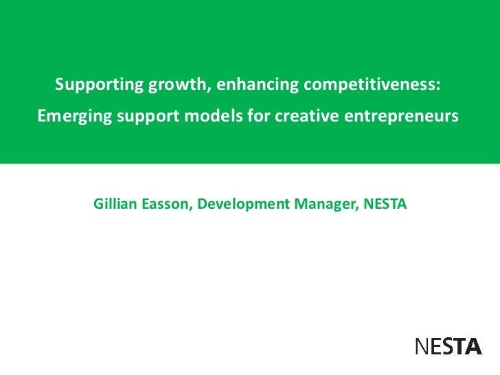 Gillian Easson for 2nd Russian-British Creative Economy forum
