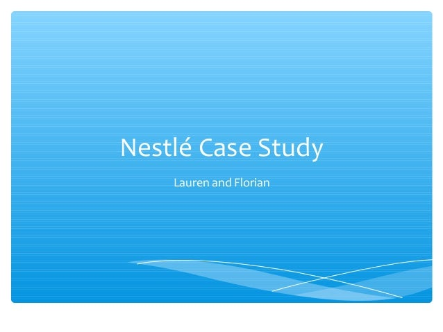 case study of nestle about benchmarking International marketing: unilever vs nestle unilever: unilever was established in 1948 and produces house hold products like detergents, toiletries, cosmetics, and food products unilever is a large corporation that has over 500 firms worldwide.