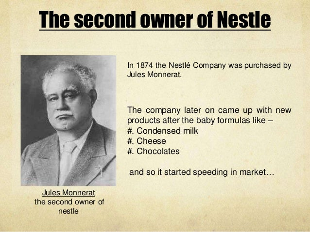 nestlé a brief history of the Our global history we want to shape a better and healthier world this was how we started more than 150 years ago when henri nestlé created an infant cereal that saved the life of a child.