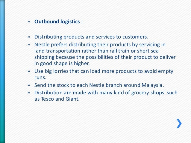 nestle porter value chain Essays - largest database of quality sample essays and research papers on nestle porter value chain.