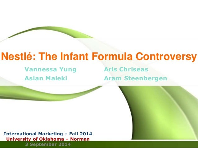 case 1 2 nestle the infant formula controversy Nestlé the infant formular controversy - slideshare the infant formular controversy 2 content • case summary.