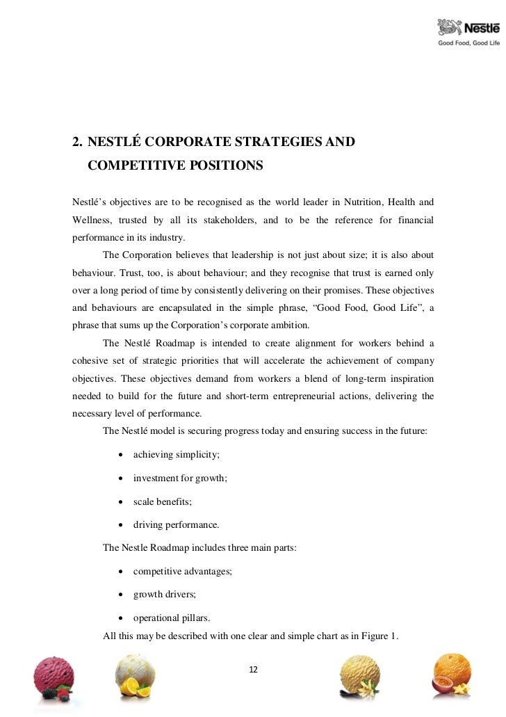nestle essay essay Nestle was formed in 1905 marketing essay 10 introduction nestle was  founded by henri nestle who was a trained pharmacist, developed a healthy and .