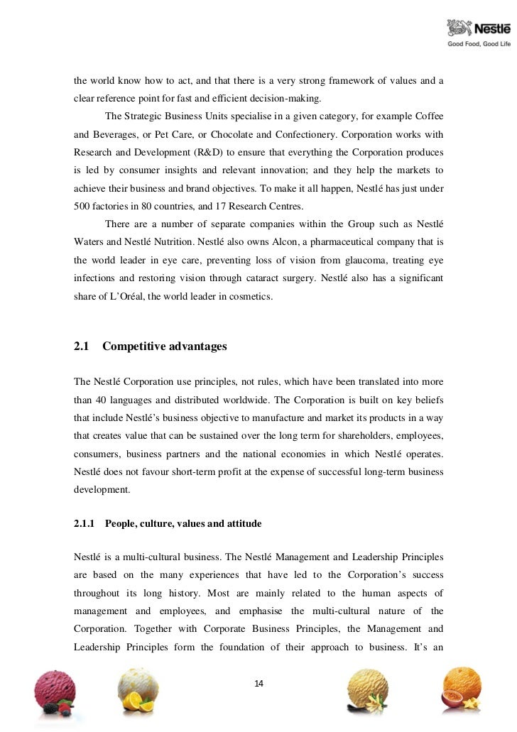 strategic management issue nestle Strategic management ( nestle company ) - download as word doc (doc / docx )  the challenge to the firm is to scan opportunities and threats of high quality.