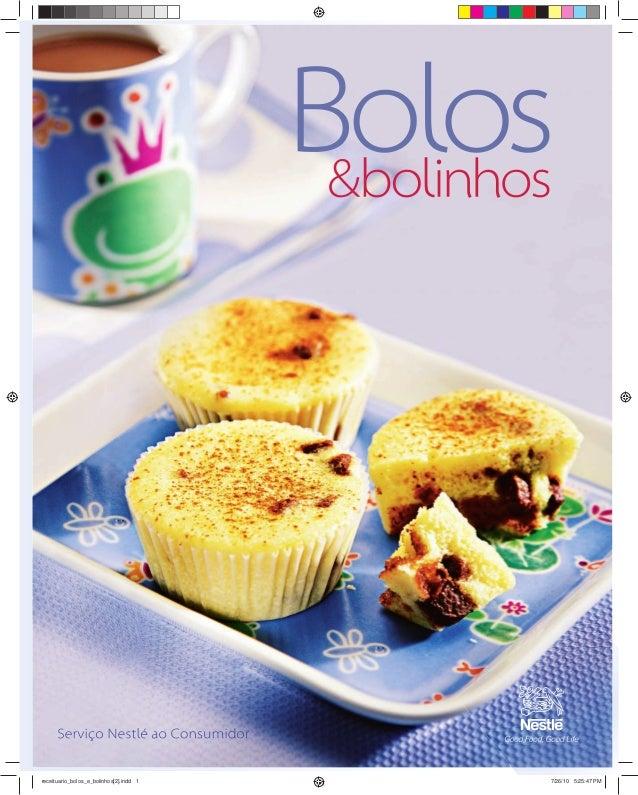 Revista Nestle Bolos e Bolinhos